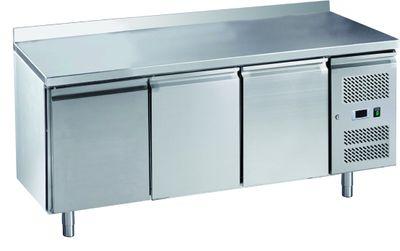 Table réfrigérée ECO3/0 avec dosseret - GN 1/1