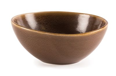 Bol Olympia, KILN, Ø 21,5 cm, marron