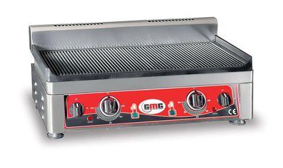 GMG Elektro-Grillplatte 52x24 gerillt - Tischgerät
