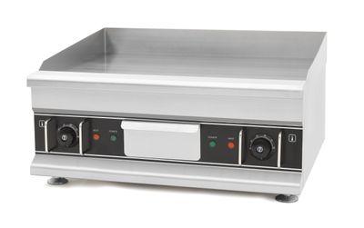 Elektro-Grillplatte Eco 596x398 glatt, verchromt - Tischgerät