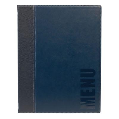Securit Menümappe Trendy A4 blau