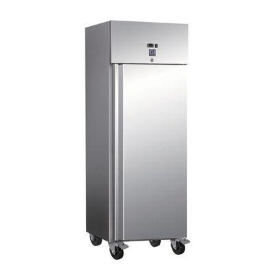 Gastro-Inox Kühlschrank 600 Liter auf Rollen
