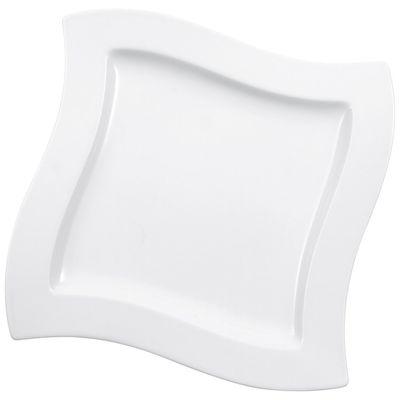 Assiette Villeroy & Boch NewWave plate rectangulaire 270 x 270 mm