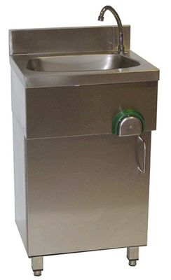 Lave-mains avec armoire basse