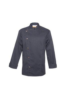 Herrenkochjacke Jeans-Style, vintage blue, Größe: 54