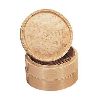 Cuiseur vapeur en bambou Vogue, 20 cm