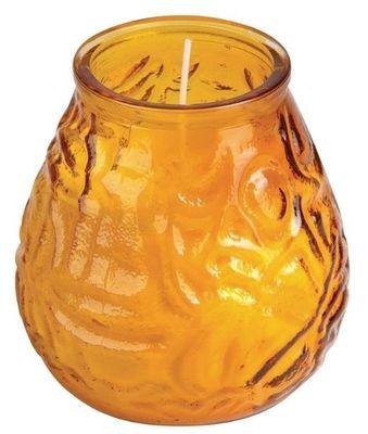 Bougies vénitiennes Bolsius Lowboy, coloris ambre