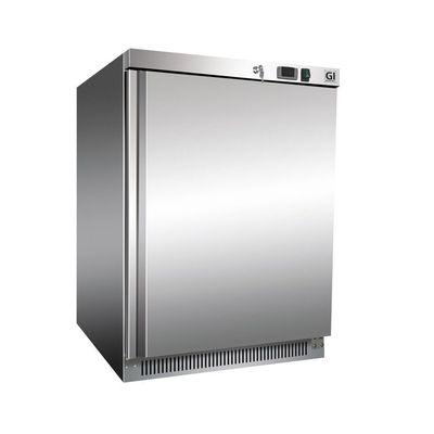 Gastro-Inox Lagerkühlschrank 200 Liter Edelstahl
