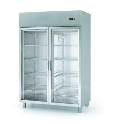 Kühlschrank Profi 1400 GN 2/1 - mit 2 Glastüren
