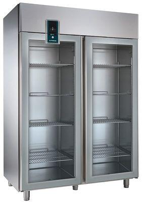 Alpeninox Umluft-Gewerbekühlschrank KU 1402-G Premium - 1430 Liter