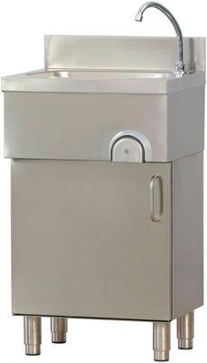 Lave-mains avec armoire basse et portes battantes Fimar