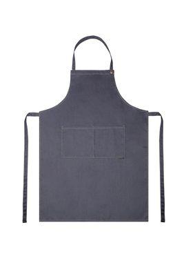 Latzschürze Jeans-Style 71 x 95 cm, vintage black