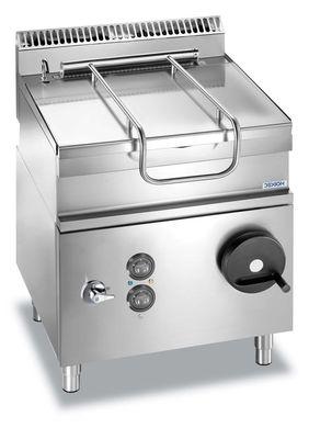 Elektro-Kippbratpfanne Dexion Lux 700 - 80/73 60 Liter, Pfanne aus Edelstahl
