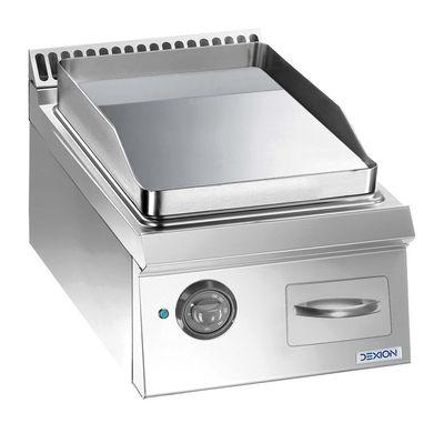 Elektrogrillplatte Dexion Lux 700 - 40/73 glatt - Tischgerät