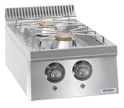 Cuisinière à gaz Dexion Lux 700 - 40/73, appareil à poser 14 kW