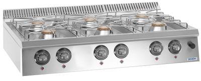 Gasherd Dexion Lux 700 - 110/73 Tischgerät 42 kW