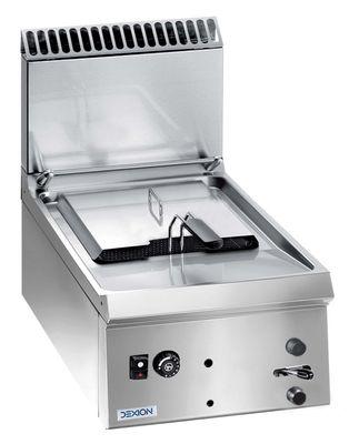 Friteuse à gaz Dexion Lux 700 - 40/73 9l - appareil à poser