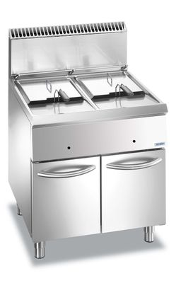 Friteuse à gaz Dexion Lux 700 – 70/73 14+14 litres