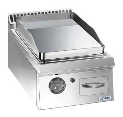 Gasgrillplatte Dexion Lux 700 - 40/73 glatt, verchromt - Tischgerät