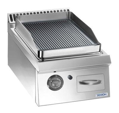 Gasgrillplatte Dexion Lux 700 - 40/73 gerillt - Tischgerät