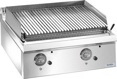 Gas-Lavasteingrill Dexion Lux 700 - 80/73 - Tischgerät