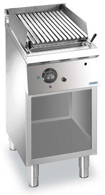 Grill à pierre de lave à gaz Dexion Lux 700 - 40/73
