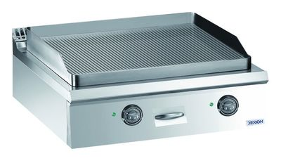 Elektro-Grillplatte Dexion Lux 980 - 80/90 gerillt Tischgerät