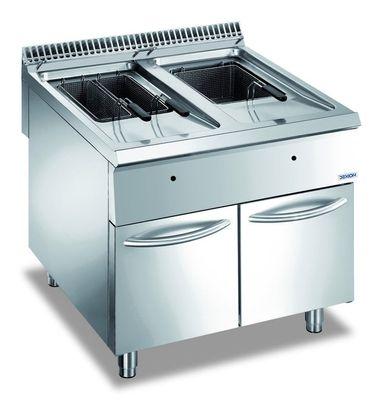 Friteuse à gaz Dexion Lux 980 - 80/90 18+18 litres