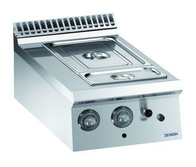 Bain-marie électrique Dexion Lux 980 - 40/90, appareil à poser