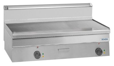 Elektro-Grillplatte Dexion Serie 66 - 100/60 glatt Tischgerät