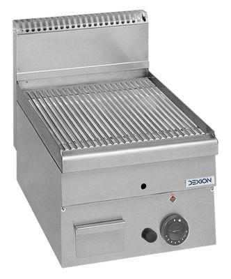 Grill à gaz Dexion Série 66 - rainurée 40/60 Table-top