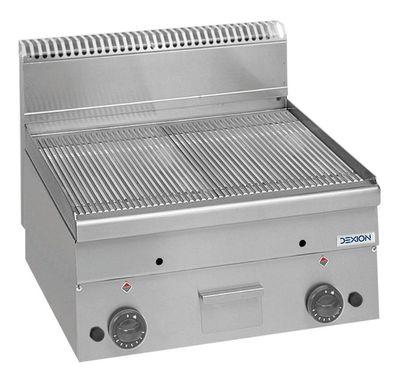 Gas-Grillplatte Dexion Serie 66 - 60/60 gerillt Tischgerät