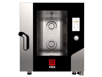 Tecnoeka Kombi-Ofen 7 x GN 1/1 mit Touchscreen