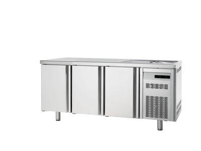 Table réfrigérée Premium 3/0 avec évier
