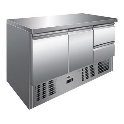 Gastro-Inox Kühltisch 2/2 Mini