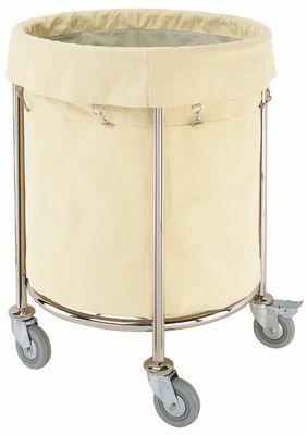 Wäschesammelwagen mit grossem Wäschesack, Höhe 80cm