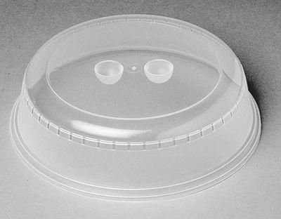 Cloche à assiette PP 26 cm, transparente