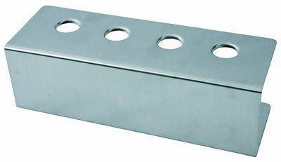 Eistütenhalter, 4 Löcher à 26mm, 27cm x 9,5cm, Höhe 9cm