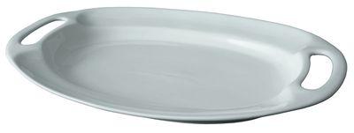 Porzellan-Platte oval, 450 x 300 mm
