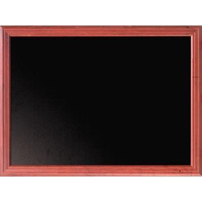 Universalwandtafel mahagoni 600 x 800 mm