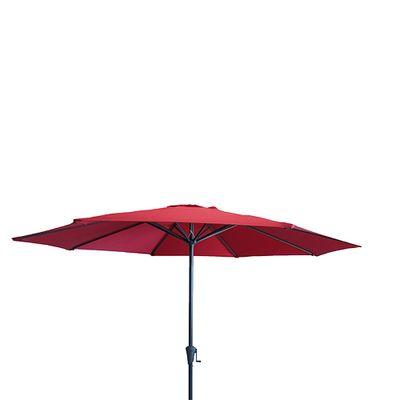 Sonnenschirm Pisa rot 300 cm ⌀