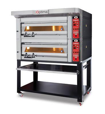 Bäckerei- & Konditoreiofen - 2 Backkammern, inkl. Aufsatzhaube & Untergestell