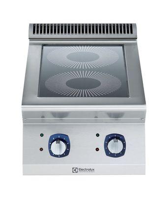 Cuisinière électrique à induction de table avec 2zones de 3,5kW chacune