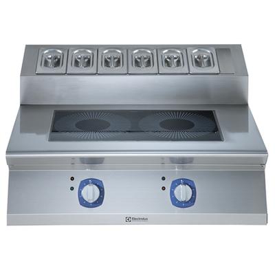 Cuisinière à induction Electrolux 2zones transversales pour table XP700