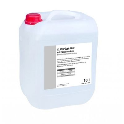 Klarspüler PROFI Citro 10 Liter Kanister