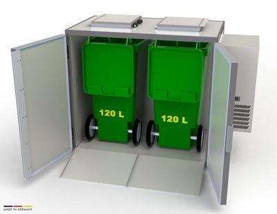 Refroidisseur de déchets Hefa 2x120L
