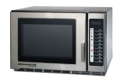 Menumaster Jumbo Mikrowelle 34 Liter mit Touch Bedienfeld, 1800 Watt