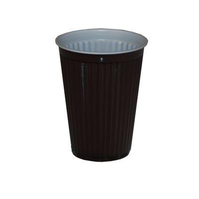 Tasse thermique de distributeur automatique Papstar, polystyrène, 0,18 l, marron/blanc - 100 pièces