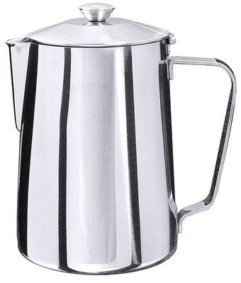 Cafetière, acier inoxydable 18/10, 2 l, hauteur 21 cm