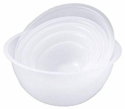 Rührschüssel, Polypropylen, weiß, Durchmesser Innen: 36 cm, Inhalt: 13 Lt.